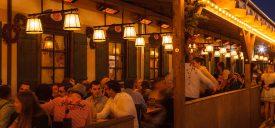 terrassevarmer Cafe og restaurant