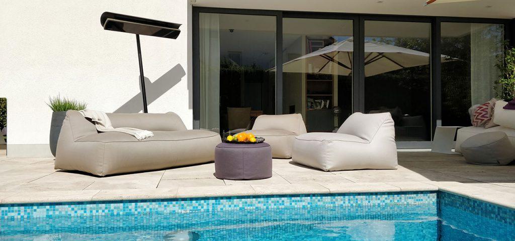 terrassevarmer pool